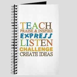 Teacher Creed Journal
