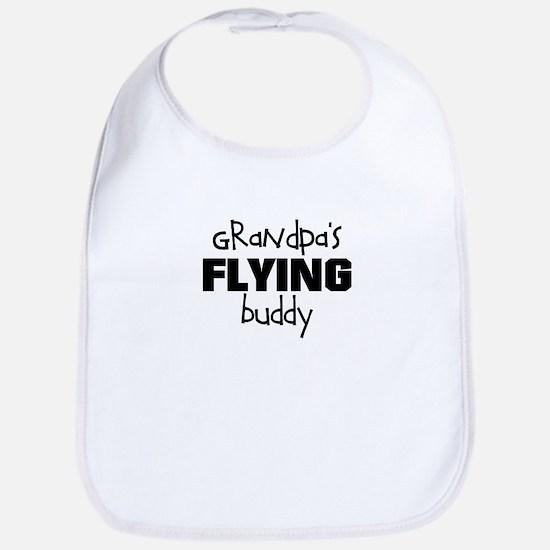 Grandpas Flying Buddy Bib