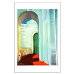 Art Deco Arch Large Poster