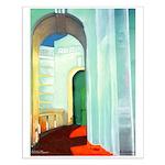 Art Deco Arch Small Poster