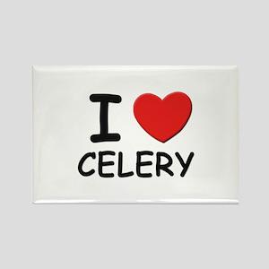 I love celery Rectangle Magnet