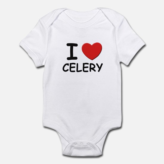 I love celery Infant Bodysuit