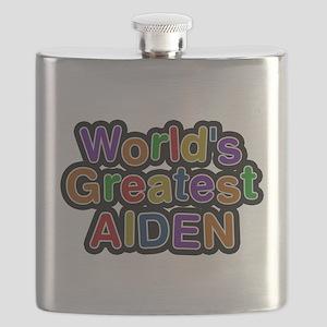 Worlds Greatest Aiden Flask