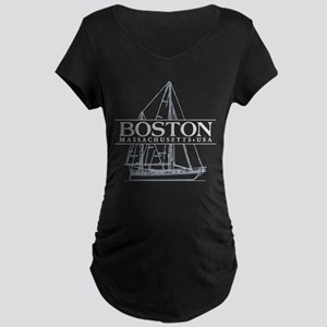 Boston - Maternity Dark T-Shirt