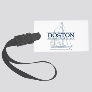 Boston - Large Luggage Tag