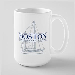 Boston - Large Mug
