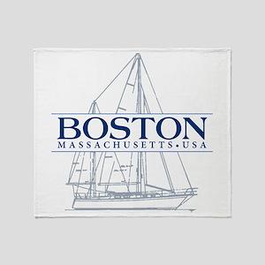 Boston - Throw Blanket