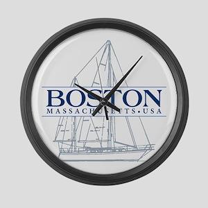 Boston - Large Wall Clock