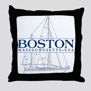 Boston - Throw Pillow