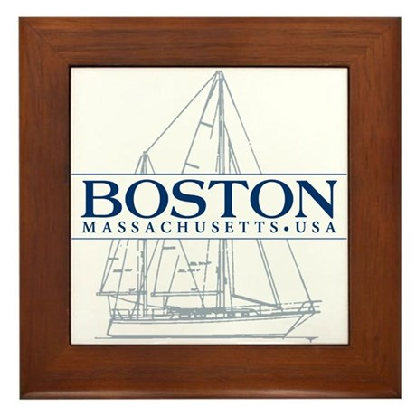 Boston   Framed Tile
