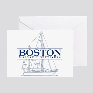 Boston - Greeting Card