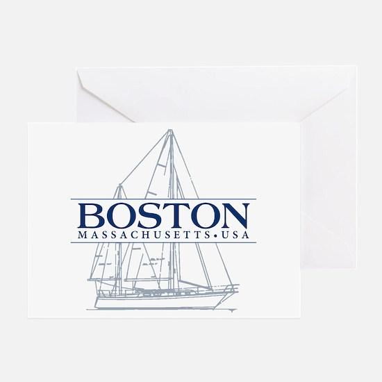 Boston - Greeting Card