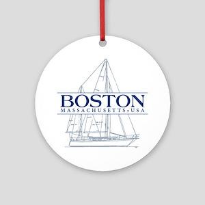 Boston - Ornament (Round)