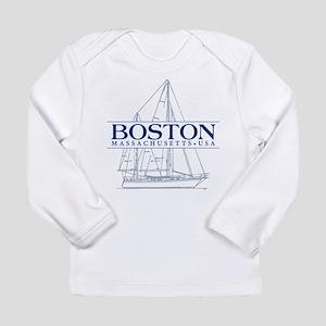 Boston - Long Sleeve Infant T-Shirt