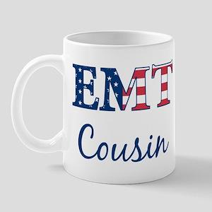Cousin: Patriotic EMT Mug