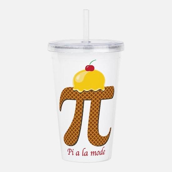 Pi a la mode Acrylic Double-wall Tumbler