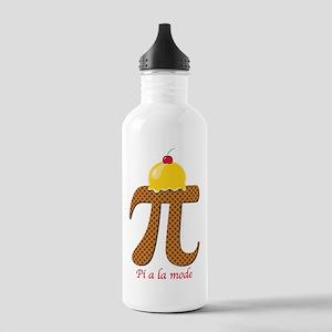Pi a la mode Water Bottle