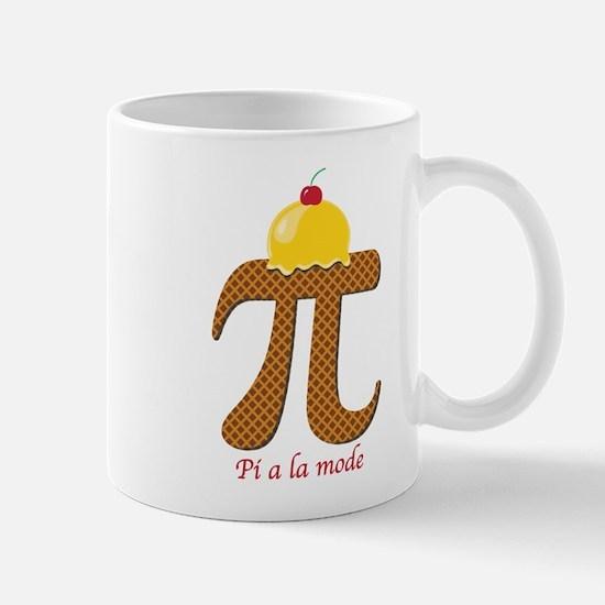Pi a la mode Mugs