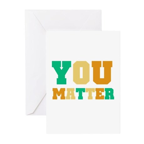YOU Matter Greeting Cards (Pk of 10)