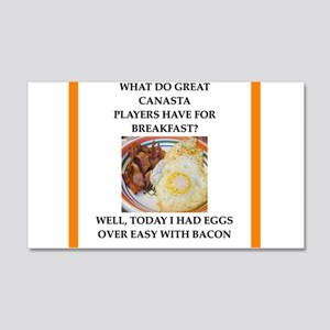 Breakfast gaming and sports joke Wall Decal
