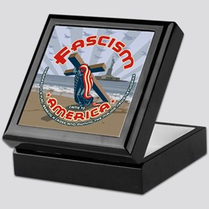 Fascism Came Draped Keepsake Box