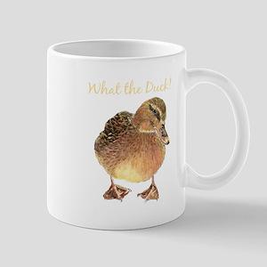 """What the Duck"" Fun Quote T-Shirt Mugs"