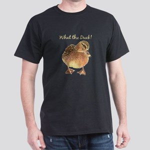 """What the Duck"" Fun Quote T-Shirt T-Shirt"