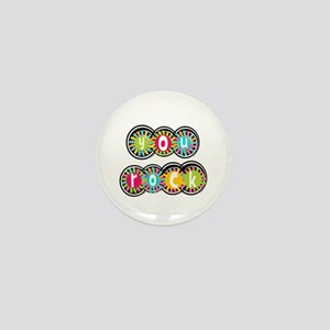 You Rock Mini Button (10 pack)