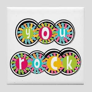 You Rock Tile Coaster