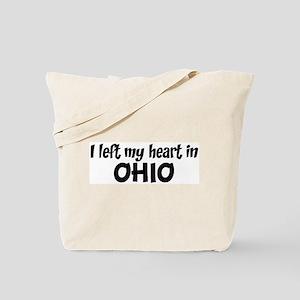 Left my Heart: OHIO Tote Bag