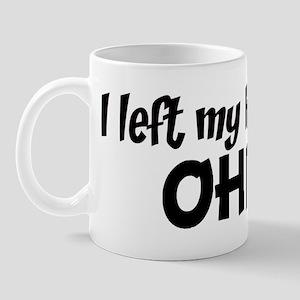 Left my Heart: OHIO Mug