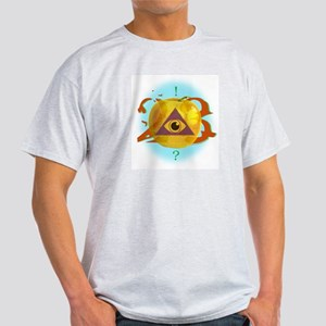 Illuminati Golden Apple Ash Grey T-Shirt