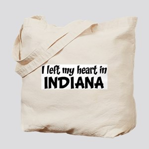 Left my Heart: INDIANA Tote Bag