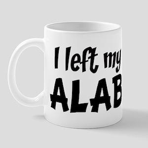 Left my Heart: ALABAMA Mug