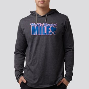 Worlds Greatest MILF Mens Hooded Shirt
