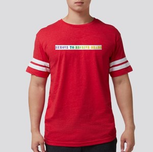 Remove To Receive Beads Mens Football Shirt
