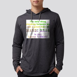 Mardi Gras Lousy T-shirt Mens Hooded Shirt