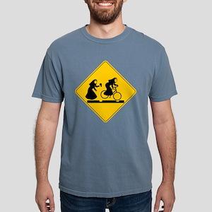 Bad Nuns Bicycle Mens Comfort Colors Shirt