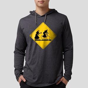 Bad Nuns Bicycle Mens Hooded Shirt