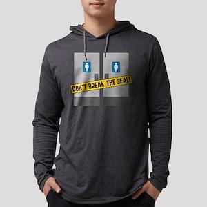 Dont Break The Seal Mens Hooded Shirt
