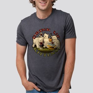 drink-up-kittens Mens Tri-blend T-Shirt