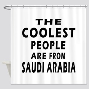 The Coolest Saudi Arabia Designs Shower Curtain