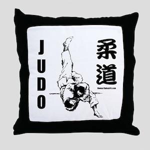 Judo Throw Throw Pillow