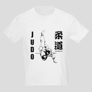 Judo Throw Kids T-Shirt