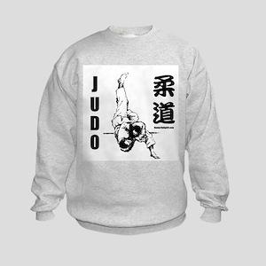 Judo Throw Kids Sweatshirt