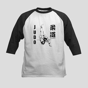 Judo Throw Kids Baseball Jersey