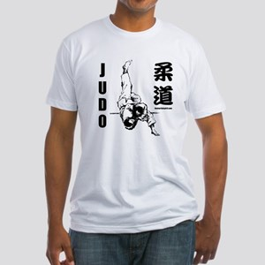 Judo Throw Fitted T-Shirt