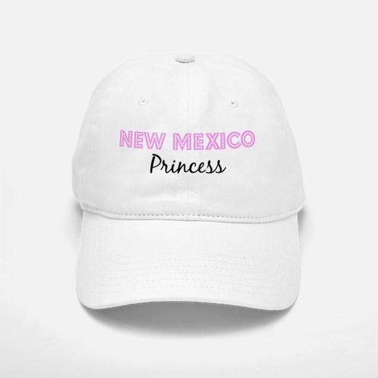 New Mexico Princess Baseball Baseball Cap