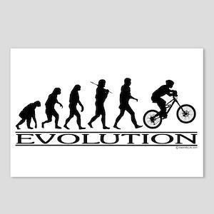 Evolution (Mt. Biking) Postcards (Package of 8)