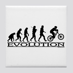 Evolution (Mt. Biking) Tile Coaster